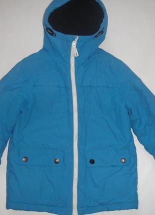 Фирменная george классная добротная куртка мальчику 7-8 лет от...