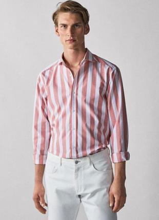 Рубашка massimo dutti, мужская рубашка, чоловіча рубашка
