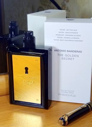 Antonio Banderas The Golden Secret Чоловіча EDT 100 МЛ Луцьк Нова