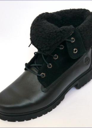 Timberland jayne кожаные зимние ботинки оригинал водонепроница...