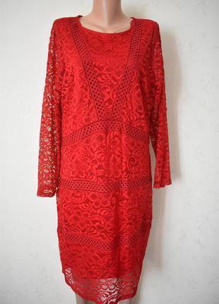 Красивое кружевное платье большого размера george