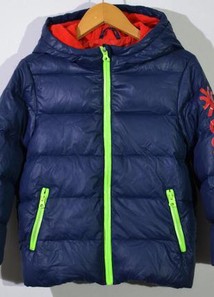 Пуховик детский united colours of benetton kids down jacket
