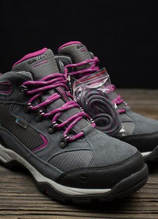 Женские водонепроницаемые ботинки с высокой посадкой hi-tec storm