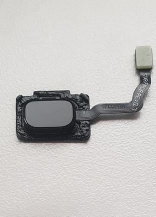 Сканер отпечатка пальца Touch ID черный для Samsung Galaxy S9