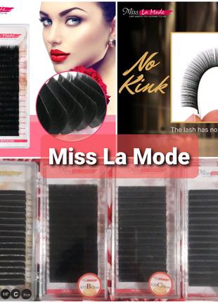 РАСПРОДАЖА-50%! Норковые ресницы для наращивания Miss La Mode