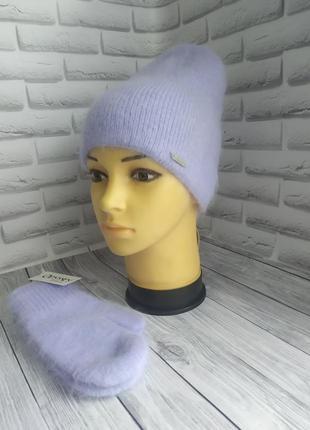 Шапка бини!шапка одиссей!шапка и варежки!шапка ангорова!шапка ...