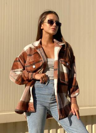 Самая модная рубашка пальто на осень 🍂