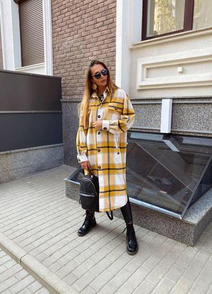 ☄️самая модная рубашка пальто осени ☄️
