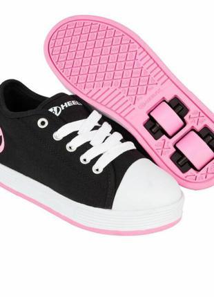Heelys 770497k fresh x2 wheeled sneaker роликовые кроссовки ро...