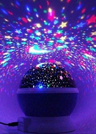 Звездное небо ночник проектор светильник новый не дорого качестве