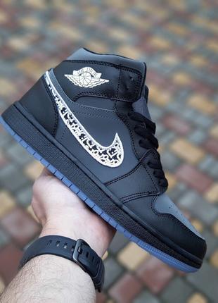 Мужские кроссовки Nike Air Jordan 1 Retro x Dior (41-45р)