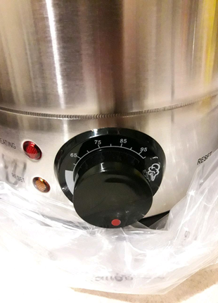 Водонагреватель-чайник с функцией поддержания температуры.