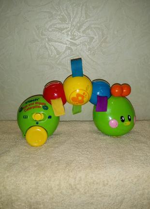 Vtech музыкальная Гусеница развивающая игрушка