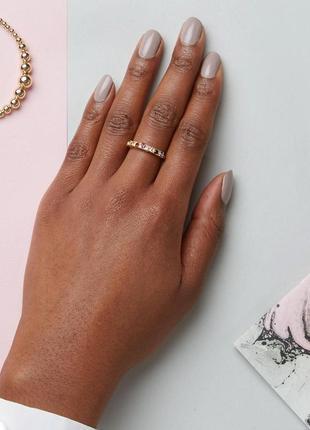 1+1=3 до 30/11 кольцо с разноцветными камнями asos бижутерия