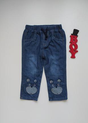 12-18 мес, джинсы на хб подкладке george.