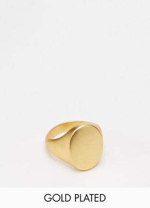 1+1=3 до 30/11 позолоченное кольцо asos