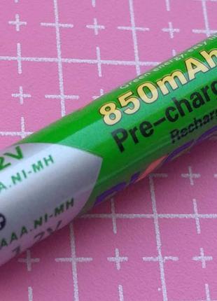 Аккумулятор ААА Ni-MH PKCELL 1.2 V 850 mAh мАч аккум 1,2 В 10440