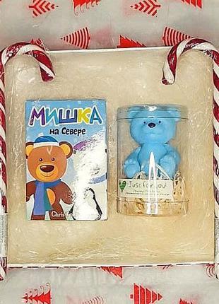 Подарок бокс, подарочный набор , мыло, духи детские