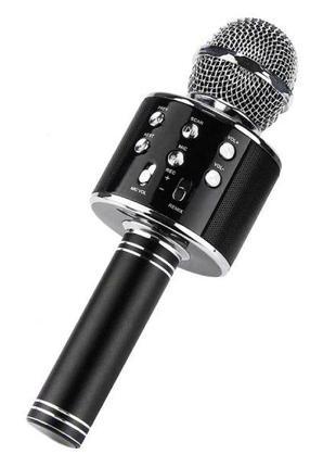 Микрофон для караоке W-858 (USB/Bluetooth)