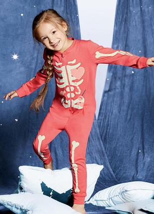 Lupilu® пижама/слип светится в темноте на девочку 12-24 мес.
