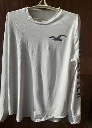 Шикарный лонгслив/футболка с рукавами Hollister