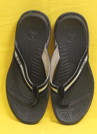 Вьетнамки crocs размер 38