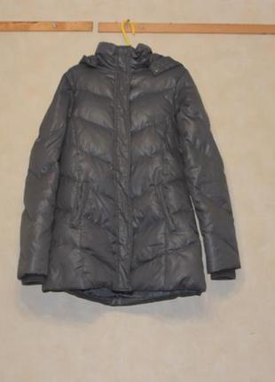 Пальто пуховое side рост 146-152