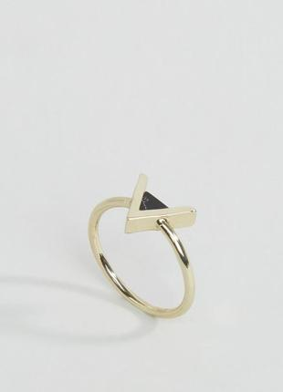 1+1=3 до 15/07 кольцо с треугольным камнем whistles бижутерия ...
