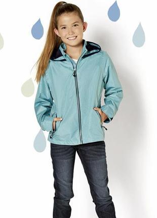 Куртка для девочки crivit дождевик 128 (7-8 лет), 134 (8-9 лет)