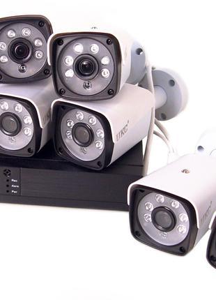 Комплект видеонаблюдения беспроводной DVR KIT CAD Full HD UKC5519
