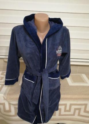 Детский качественный натуральный хлопковый махровый халат турц...