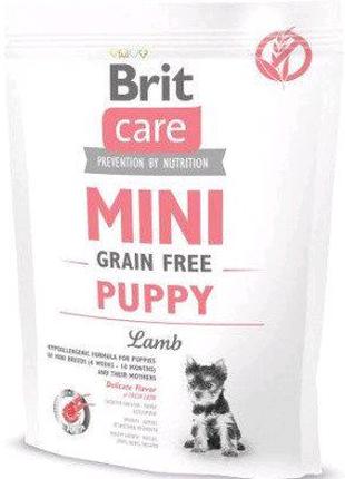 Brit Care Mini Puppy 2 кг Корм для щенков мелких пород с ягненком