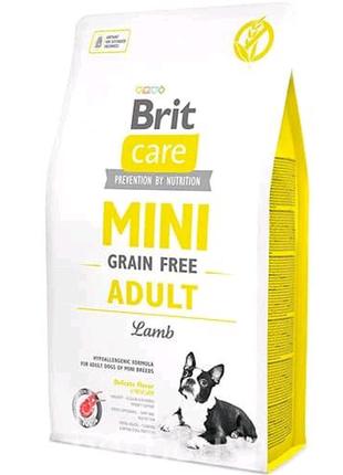 Brit Care Mini Adult Lamb  2 кг для собак миниатюрных пород