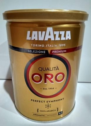 Кофе молотый Лавацца Оро Lavazza Qualita Oro 250г в ж/б, Италия
