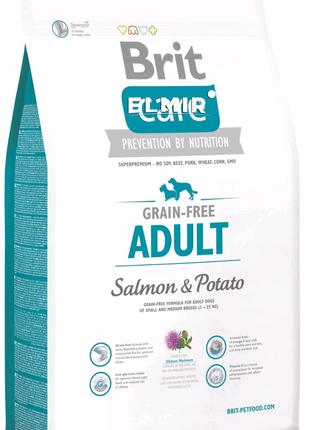 Корм для собак Brit Care GF Adult Salmon & Potato 12 кг