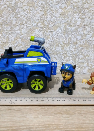 Набор щенячий патруль paw patrol гонщик на машине менди