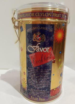Подарочный чай Favor Фэйвор Coctail Фруктовый коктейль 100г