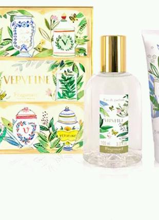 Набор Verveine від Fragonard 100ml парфум.вода+крем
