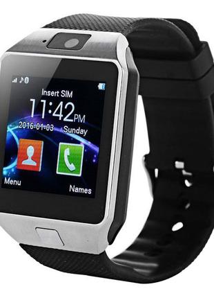 Смарт часы Smart Watch DZ09 Silver