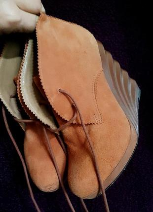 Ботинки на платформе studio andre  кожа  100%
