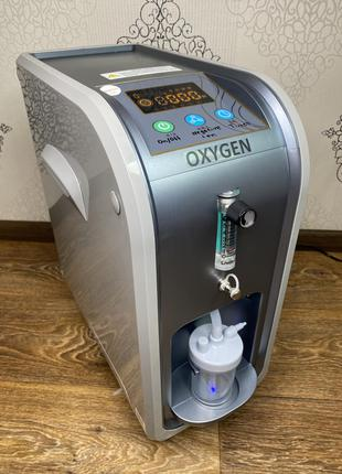 Кислородный концентратор OXYGEN CONCENTRATOR 5 литров 93%. Новый!