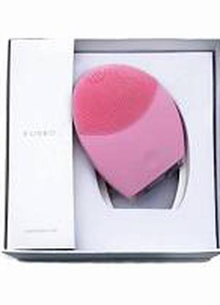 Щеточка для очистки лица и спа-массажа Foreo Luna 2, розовая