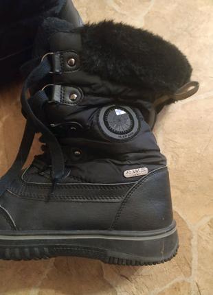 Сапоги-ботинки прорезиненые