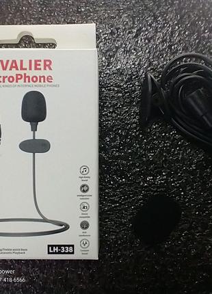 Петличный микрофон  Lavalier MicroPhone LH-338