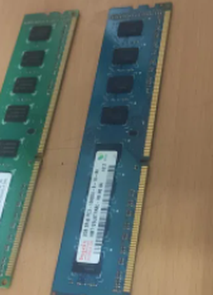 Оперативная память DDR3-1333 2096MB PC3-10600