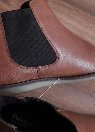 Кожаные мужские деми ботиночки челси р.43