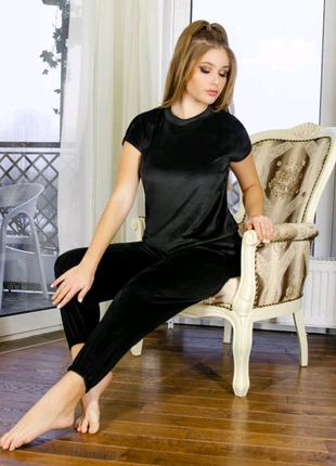 Домашняя одежда женская пижама/комплект футболка шорты штаны