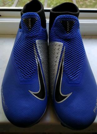 Бутсы Nike Phantom Vision Elite DF FG blue 42