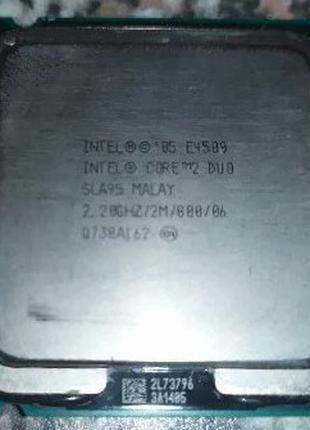 Процессор Intel Core2 Duo E4500 lga775 двухядерный 2,20 GHz