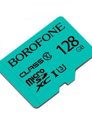 Карта пам'яті MicroSD Borofone 128GB Class 10 Original